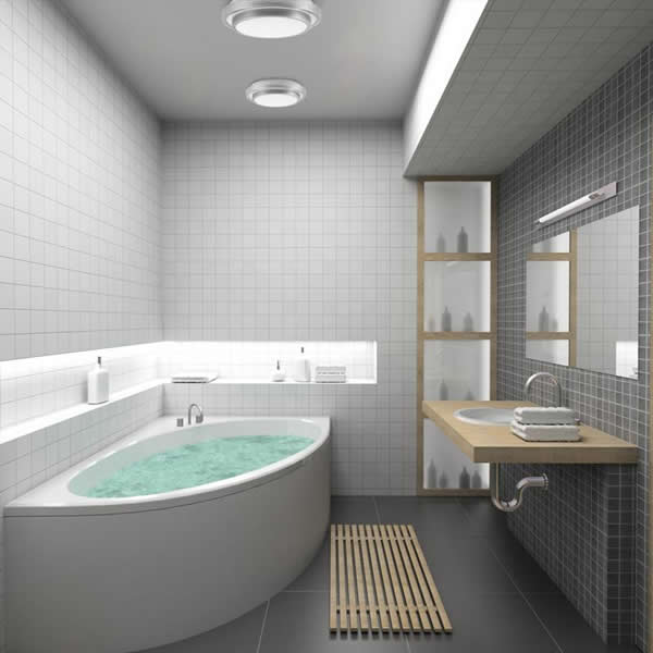 stunning salle de bain simple et moderne ideas - amazing house ... - Salle De Bain Moderne Design