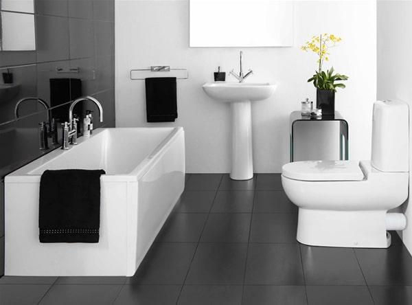 15 idées de décoration de petites salles de bains 3