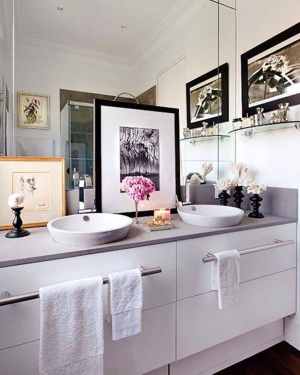 30 id es et astuces de rangement pour la salle de bain - Meuble de rangement pour salle de bain ...