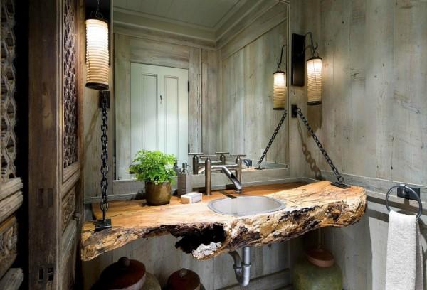 elegant ides de meubles pour salle de bains with meuble salle de bain en palette de bois