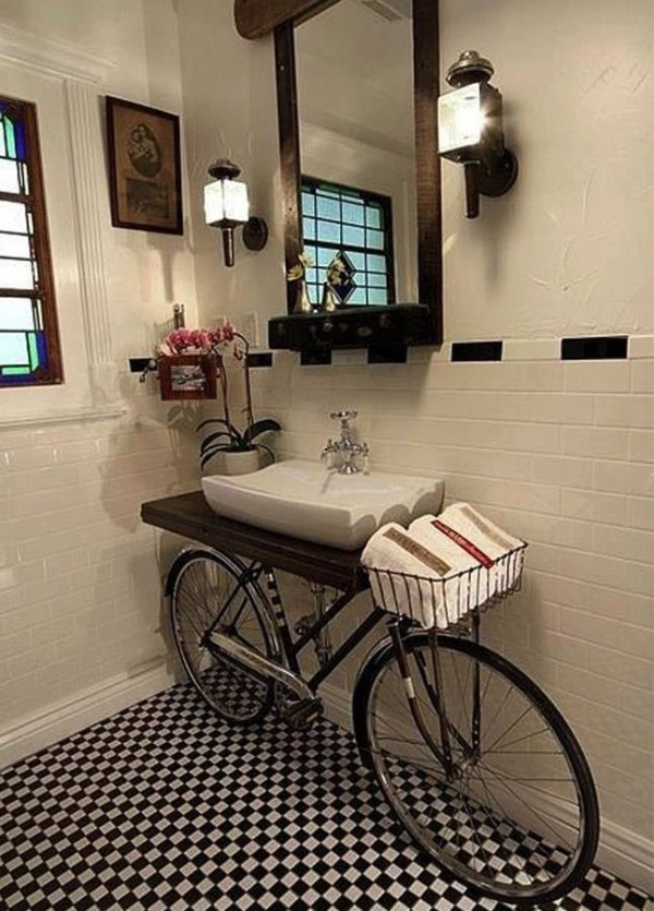Cool sinks for bathrooms - Source Vu Sur Https Fr Pinterest Com Mrsbsavin Practical Bathroom