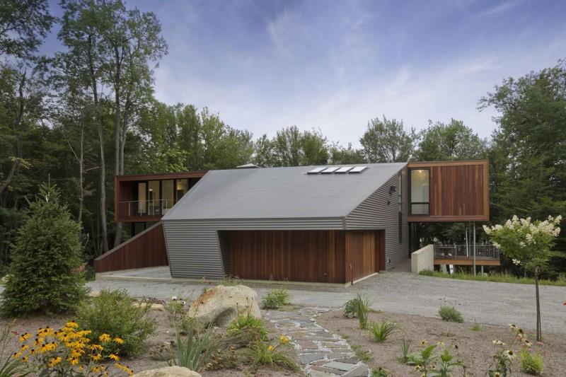 La maison Berkshire Pond 2