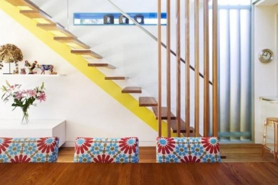 La maison rénovée éclectique et colorée à Sydney 1