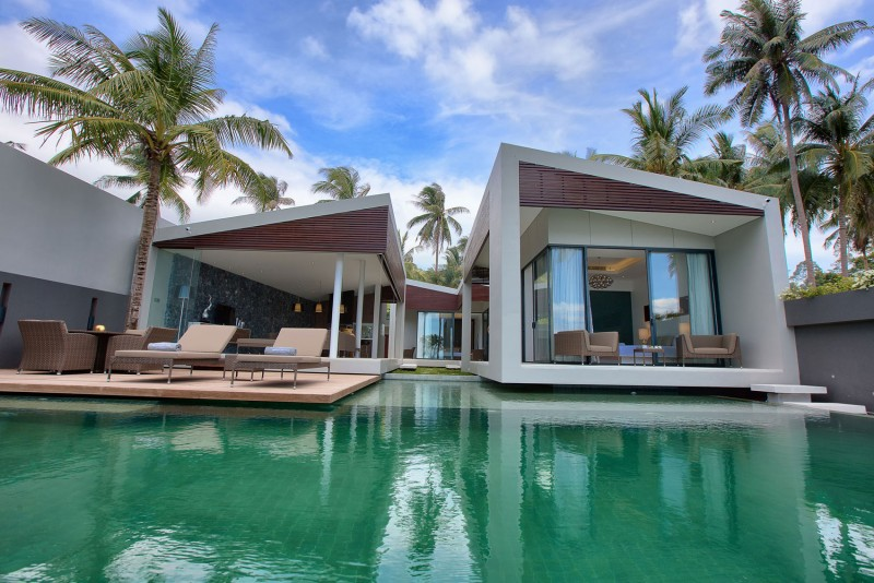 Top 10 Villas Piscine on phuket tropical modern house design