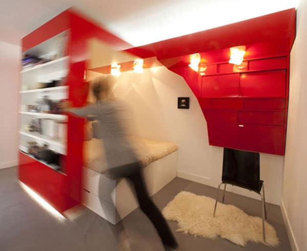 L'appartement Red Nest 5