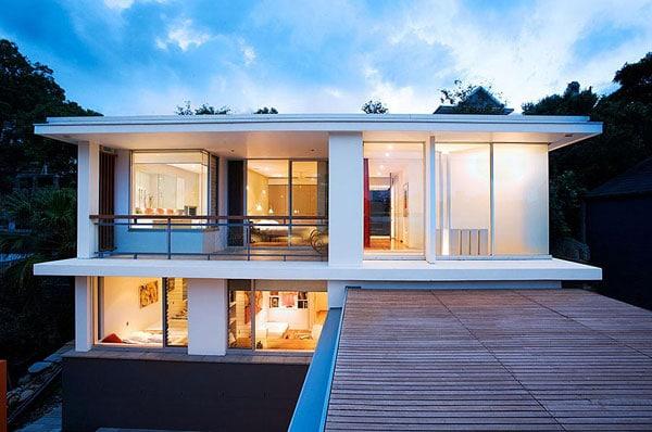 10 id es originales pour faire une t te de lit en palette - Magnifique residence hunters hill en australie ...