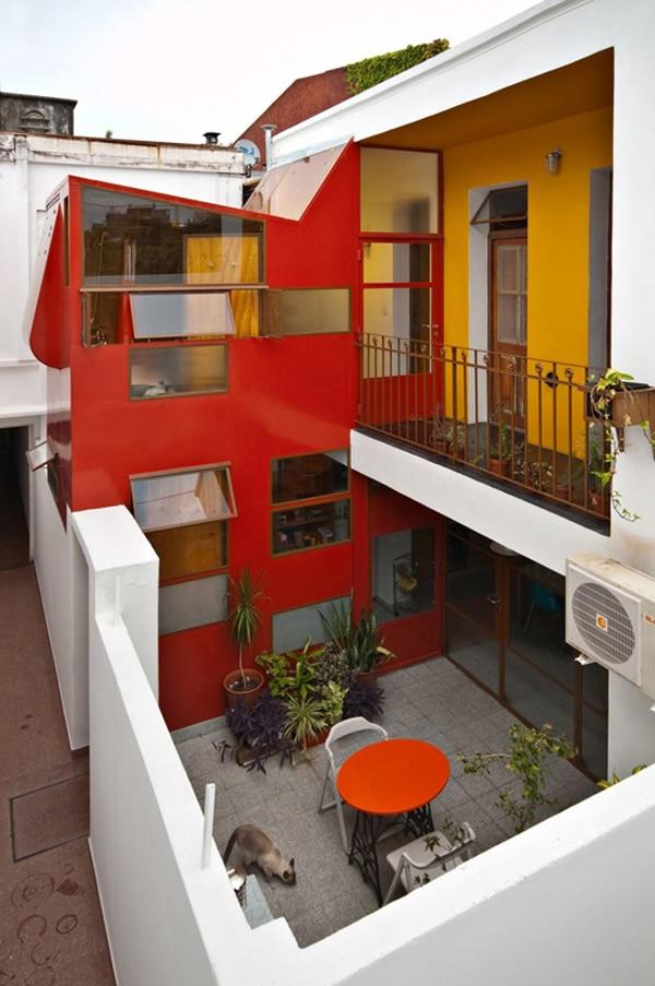 La maison colorée Min de Pop-Arq 1