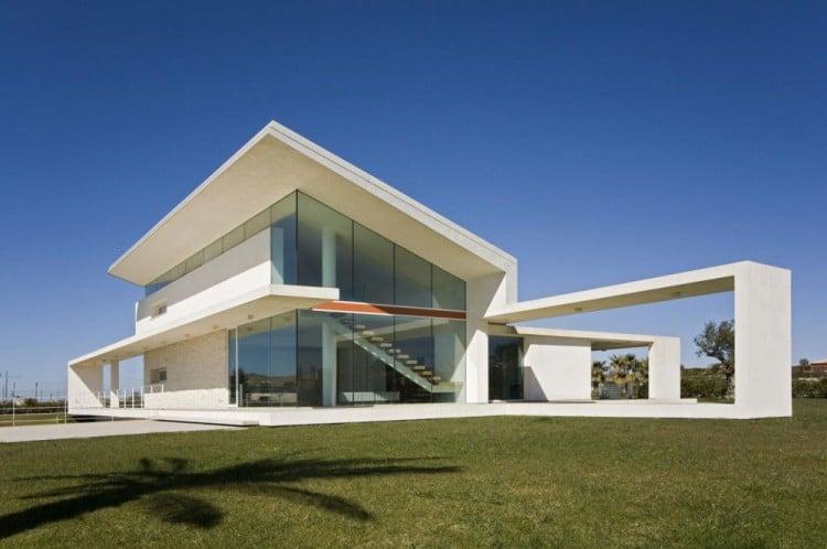 Italie: une maison en béton et verre en Sicile - Moderne House  1001 ...