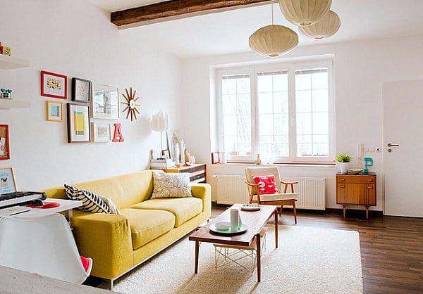 Le blanc la nouvelle couleur pour votre salon 2