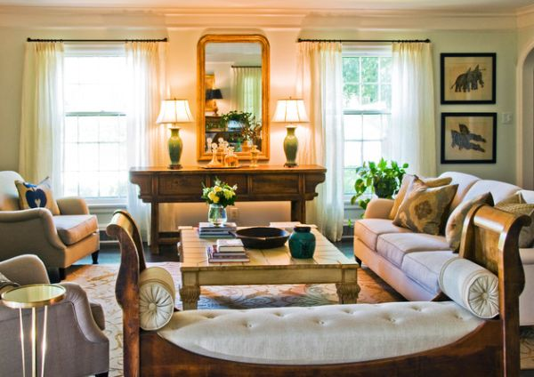 Six manières créatives de décorer votre salon multi-niveaux 6