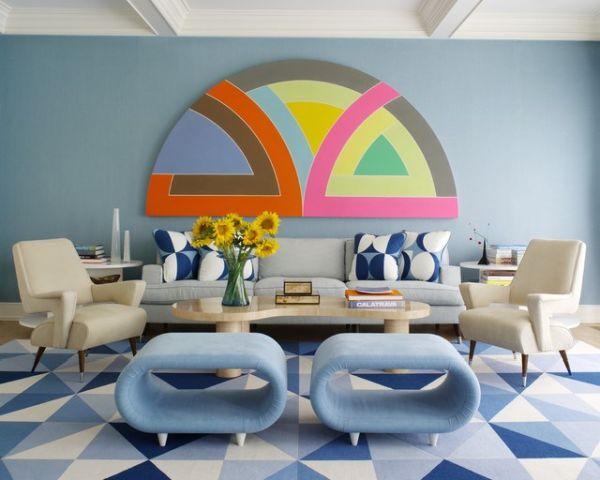 5 Mani Res De Cr Er Un D Cor Inspir Des Ann Es 70 Moderne House 1001 Photos Inspirations