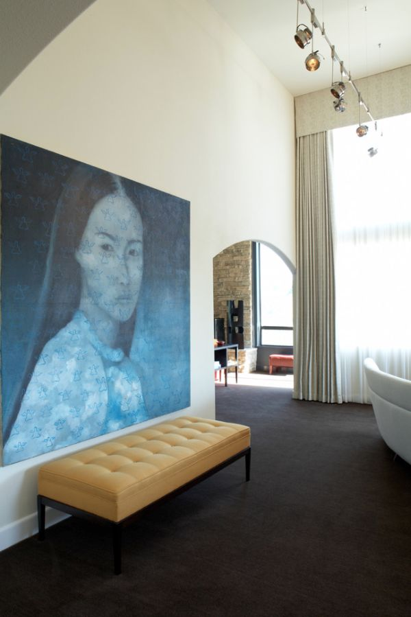 Grand salon confortable 5