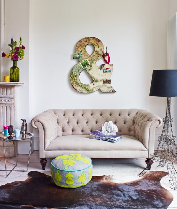 Mélanger des éléments décoratifs sophistiqués à d'autres bon marché 3