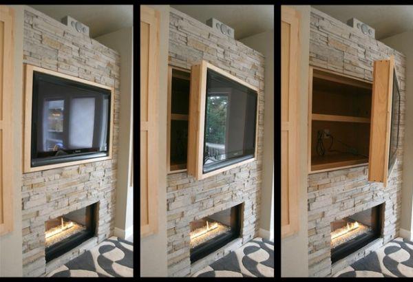des espaces de rangements astucieux pour un salon pragmatique. Black Bedroom Furniture Sets. Home Design Ideas