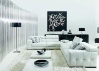 Décorer votre salon en noir et blanc 1