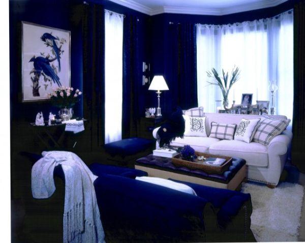En composant votre décoration bleue rappelez vous quil est facile