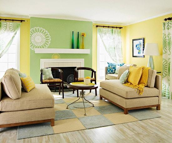 Salon jaune: 38 idées déco entre énergie et luminosité