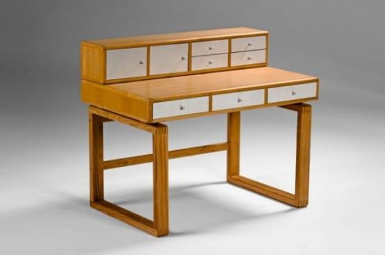 Le bureau saska un petit air scandinave moderne - Ne jetez plus vos clic clacs changez leurs housses ...