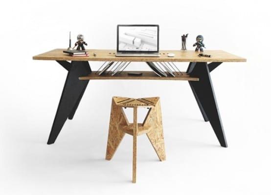 Idée de bureau design contemporain et tendance