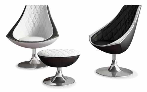 La chaise futuriste Vela - Formenti 1
