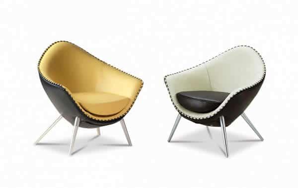 Chaise Iris de style rétro 3