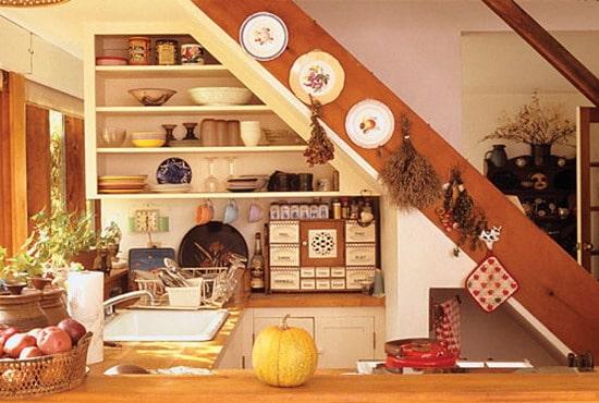 Espace de stockage dans la cuisine