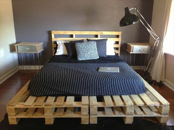 Comment faire un lit en palette de bois