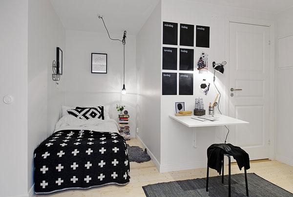 Petite chambre design - 1