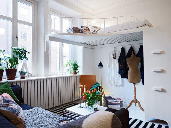 Petite chambre design - 12