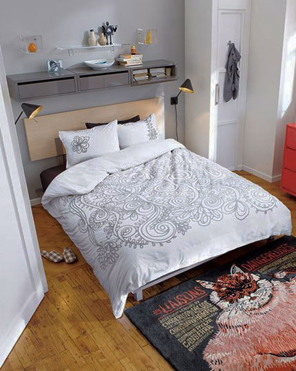 40 petites chambres pratiques pour simuler un int rieur - Petites chambres pour un interieur plus grand ...