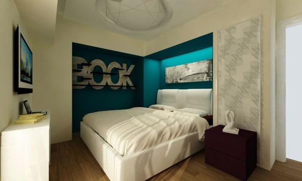 Petite chambre design - 6