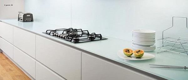 Plan de travail dans la cuisine