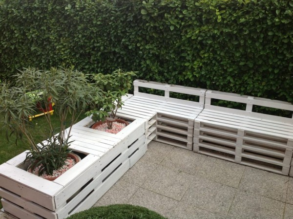 Beautiful Idee Salon De Jardin Palette Photos - Amazing House Design ...
