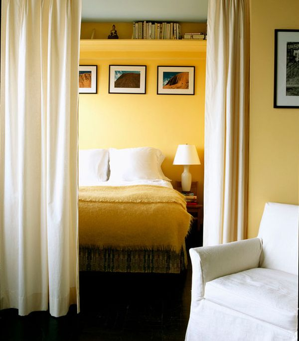 10 id es pour s parer la chambre coucher des autres - Idee separation chambre salon ...