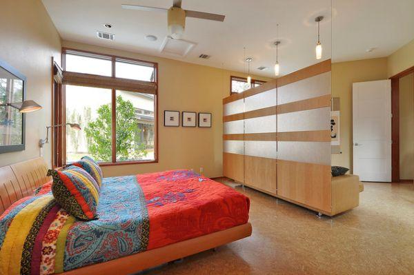 10 id es pour s parer la chambre coucher des autres for Separation decorative entre 2 pieces