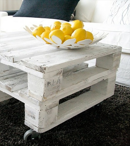 Top Table basse en palette : 50 idées originales ! CO27