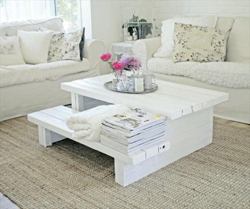 table basse en palette 50 id es originales. Black Bedroom Furniture Sets. Home Design Ideas