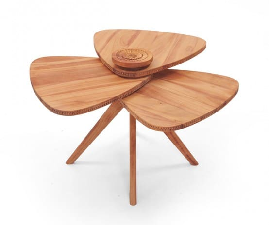 Table Modern Petal 1