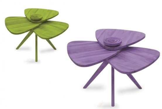 Table Modern Petal 3