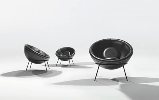 Chaise Bowl 4 par Arper