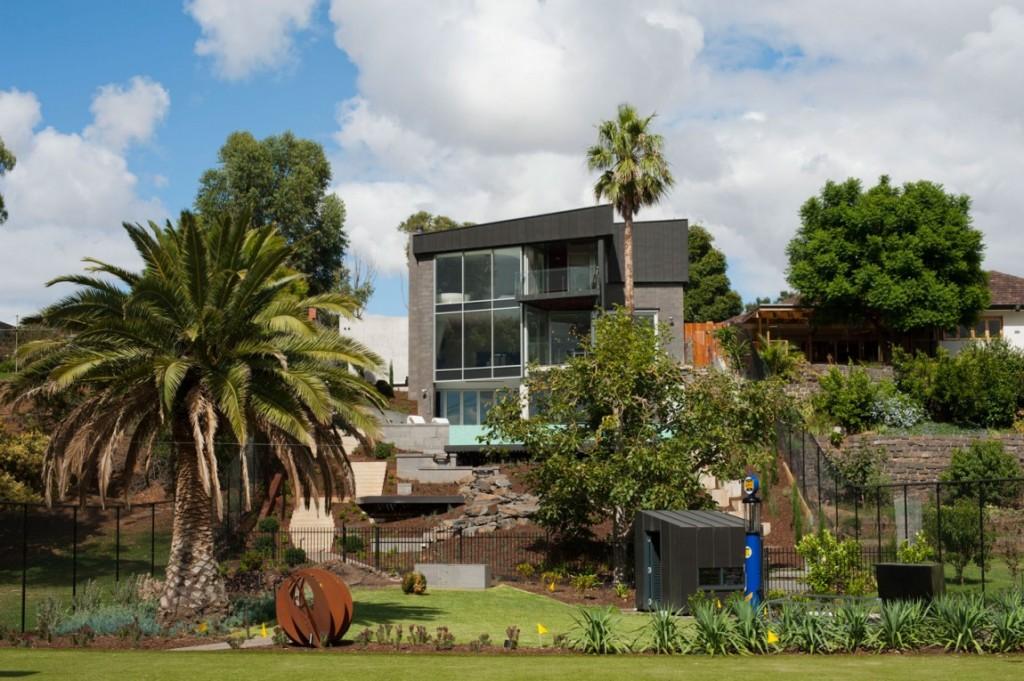 Id es de meubles pour salles de bains moderne house - Villa maribyrnong par grant maggs architects ...