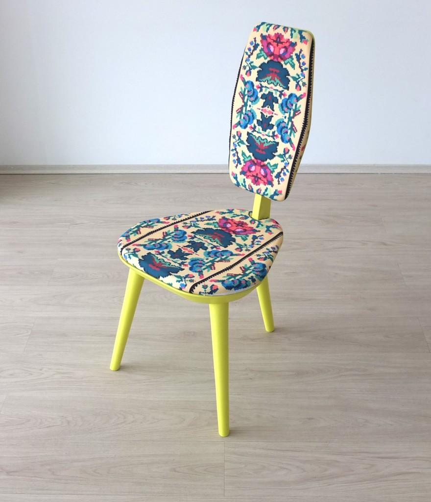 Chaise ethnique réalisé par Lana 5
