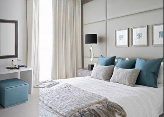 Chambre bleu et grise 15 mod les chics et sobres for Chambre gris bleu
