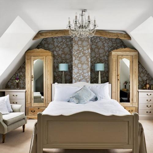 30 id es de d co de chambre dans un grenier sous les combles - Idees chambre designmodeles surprenants envoutants ...