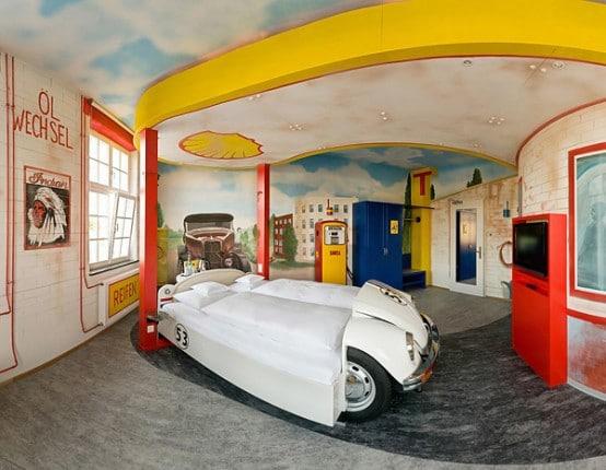 Id es d co de chambre pour les fans de voiture - Idees chambre designmodeles surprenants envoutants ...