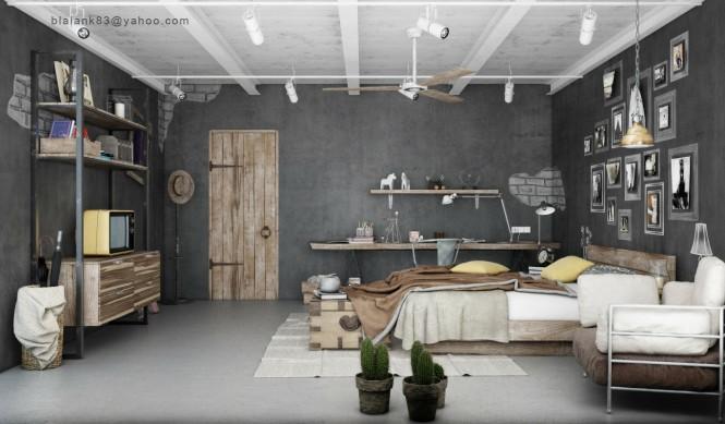 chambre-look-industriel-1