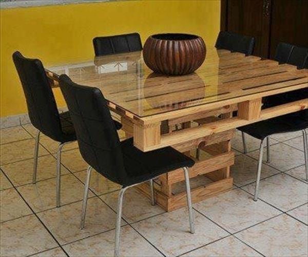 Table En Palette 25 Id Es Pour Fabriquer Votre Propre