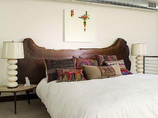 T te de lit 25 sublimes id es du rustique au moderne for Idees tete de lit