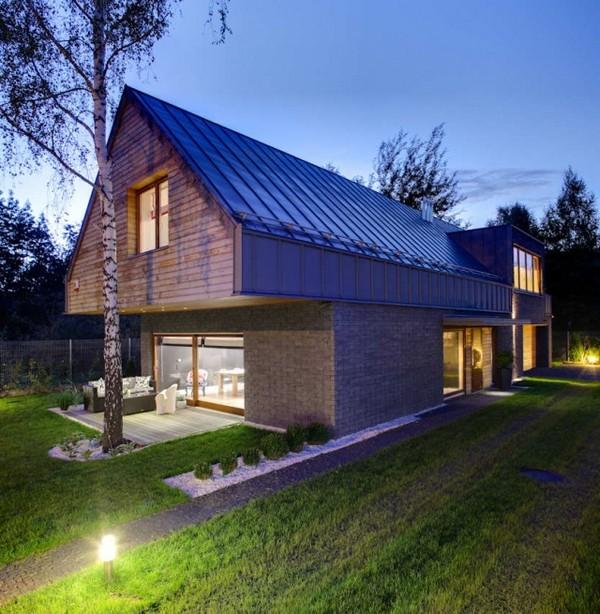 Pologne une maison simple aux d tails rustiques - Maison simple aux details rustiques en pologne ...