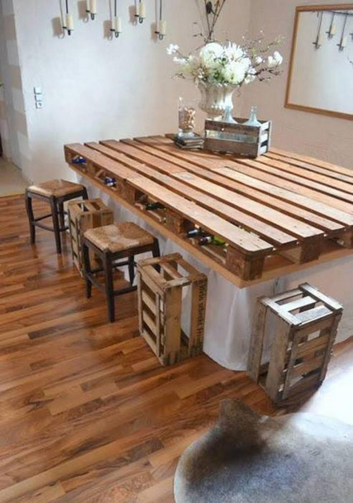 Table En Palettes